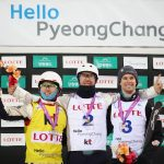 Podium at Olympic Test Event